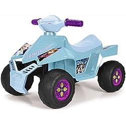 Feber Racy Frozen Quad Elettrico per Bambini, 6 V, Colore Azzurro/Viola, 800011785