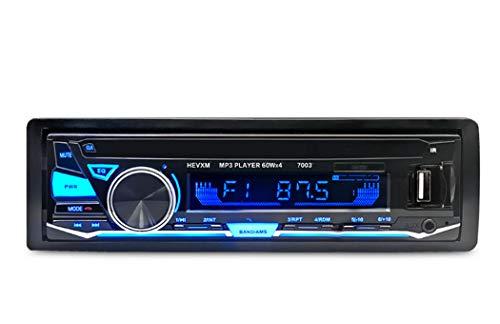 Y&Jack Car Mp3 Card Machine Car Player unterstützt Bluetooth-Handy Bluetooth-Musik-Radio für die meisten Autos