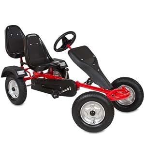 tectake kart p dales go kart cart voiture p dale gocart 2 places rouge jeux et. Black Bedroom Furniture Sets. Home Design Ideas
