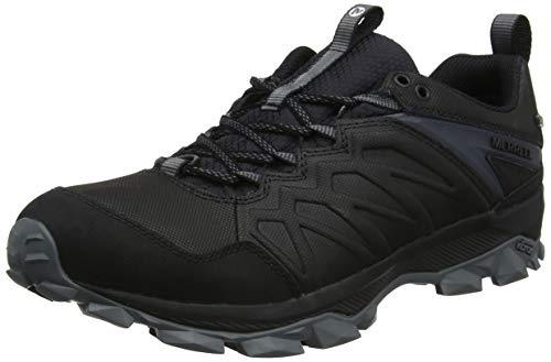 Merrell Thermo Freeze Waterproof, Zapatillas de Senderismo para Hombre, Negro Black, 42 EU