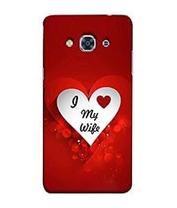 Fuson Designer Back Case Cover for Samsung J3 2017 :: Samsung Galaxy J3 2017 (Love heart Girl Valentine Three Hearts)