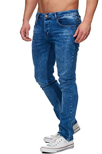 TAZZIO Slim Fit Herren Styler Look Stretch Jeans Hose Denim 16533