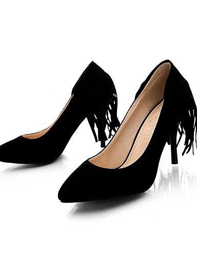 GS~LY Da donna-Tacchi-Formale / Casual / Serata e festa-Tacchi / A punta-A stiletto-Felpato-Nero / Marrone / Rosso / Beige brown-us5 / eu35 / uk3 / cn34
