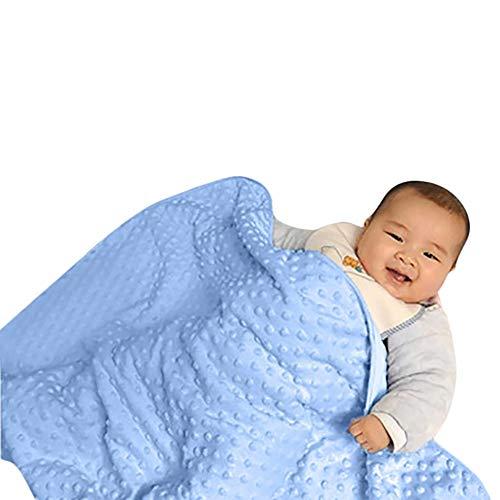 TEBAISE Neugeborene Babydecke warme Fleece Kinderwagen Decken Steppdecke Windeln Bettwäsche Weihnachten
