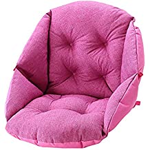 MSM Acolchado del Asiento, Silla Nido Interiores Aire Libre Almohadillas para sillas Cojines de Sentarse