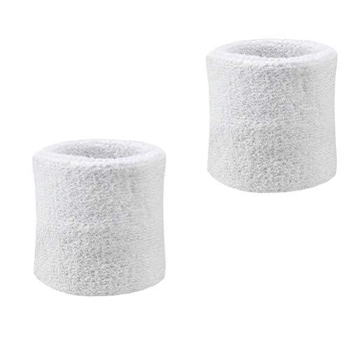 Schweißbänder Absorbierende Armbänder 1 Paar für Basketball Leichtathletik Laufen Yoga Damen -