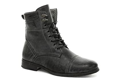 New Gola Grit Fur Grey Military Style Boots US Size 12