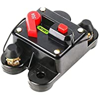 50A 60A 80A 100A 125A 150A 200A 250A Opcional Fusible de Interruptor de Circuito de Audio para automóvil en línea para protección 12V SKCB-01-100A
