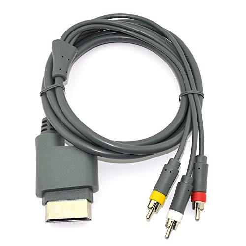 Wiresmith Standard RCA AV Composite-Kabel für Xbox 360 Xbox 360-hdmi-hd-av-kabel
