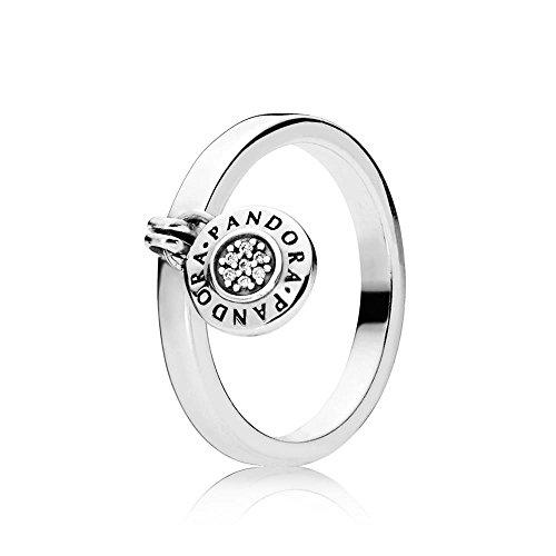 Pandora Damen-Statement-Ringe 925 Sterlingsilber mit \'- Ringgröße 50 (15.9) 197400CZ-50