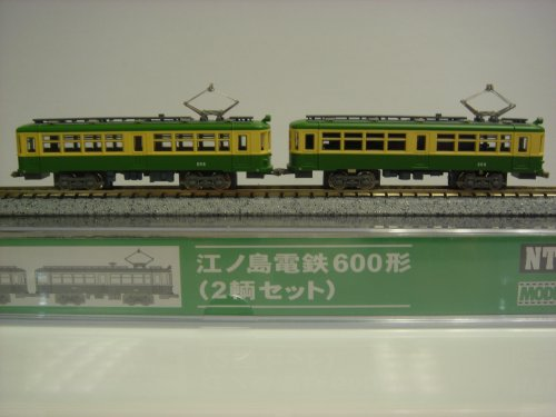 Enoshima Electric Railway Type 600 (2-car Set) w/Motor (Model Train)