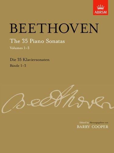 Serie Taste-board (The 35 Piano Sonatas, Volumes 1-3: Slipcase edition (Signature Series (ABRSM)))