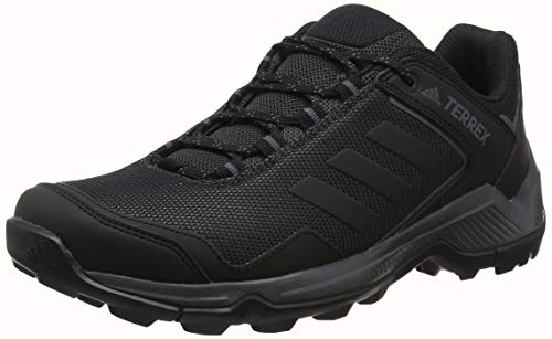 adidas Herren Terrex EASTRAIL Walkingschuhe, Schwarz Carbon/Core Black/Grey Five, 45 EU