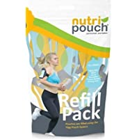 5 x 250ml Pack of Nutripouch Refill Pouches for Homemade Smoothies, Protein Shakes, Fruit Drinks, Juices. To be used with the Nutripouch Drinks Pouch Filling System