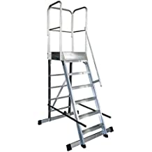 Arcama 1EP60060149 Escalera plataforma móvil industrial 60 x 60 x ...