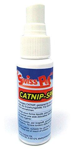 SwissPet Catnip Spray 30 ml für Katzen I flüssige Katzenminze I für Katzenspielzeug (Cat-nip-fisch)