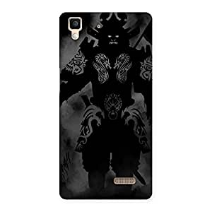 Ghost Warrior Back Case Cover for Oppo R7