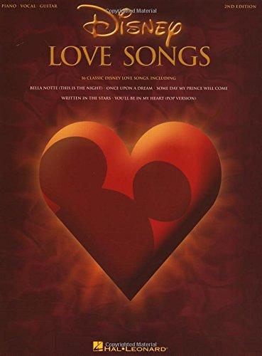 Disney Love Songs - 2nd Edition: Songbook für Gesang, Klavier (Gitarre)