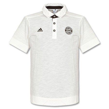 adidas Erwachsene Polo FC Bayern München Auth, Runwhi/Musbro, S, G90256