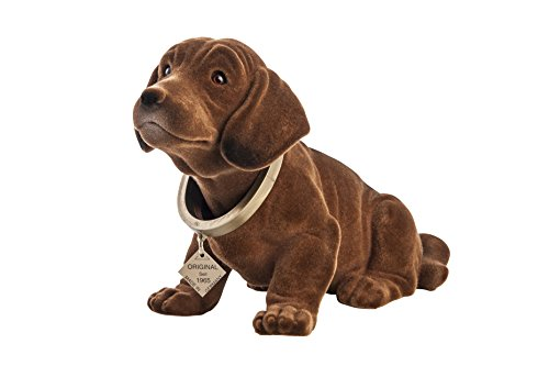 Bobble-Dachshund Figure 29 cm Voiture Bobble-Head Chien Teckel Bobble-Dachshund