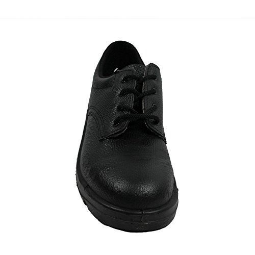 Ergos madrid 2 chaussures de sécurité s1P sRC chaussures businessschuhe plat noir Noir - Noir