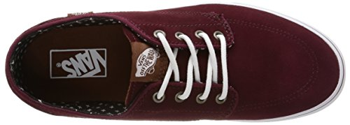 Vans U Brigata Suede, Baskets Basses Mixte Adulte Rouge (Suede/Windsor Wine/Plus)