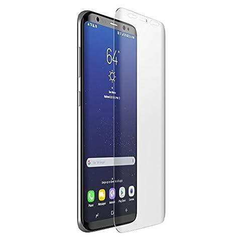 """Mondpalast @ prime Surface courbe Protection écran en Verre Trempé INRAYABLE et ULTRA RÉSISTANT INDICE Dureté 9H Haute transparence pour Samsung Galaxy S8 S VIII 5,8"""" samsung galaxy s8"""