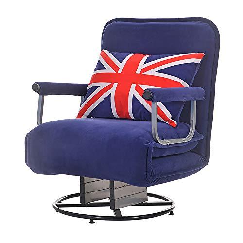 JXHD Folding Lounge Sessel Schlafsofa/BüRo Ruhe Bett/Faule Couch - 3 In 1...