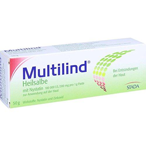 Multilind Heilsalbe mit Nystatin, 50 g Paste