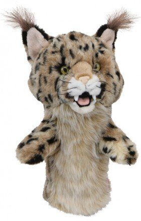 DAPHNE NOVELTY GOLF DRIVER HEADCOVER. BOBCAT -