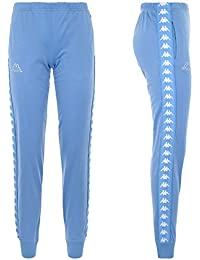 Abbigliamento Donna it Kappa Blu Amazon Pantaloni U1wX8nq