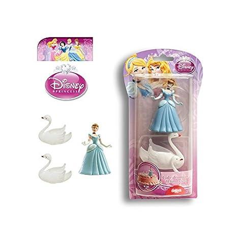 AEC - GU24161 - Kit Décoration pour Patisserie Pvc Disney Princesses - 9 cm