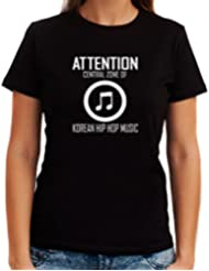 Attention Central Zone of Korean Hip Hop Music Dame T-Shirt