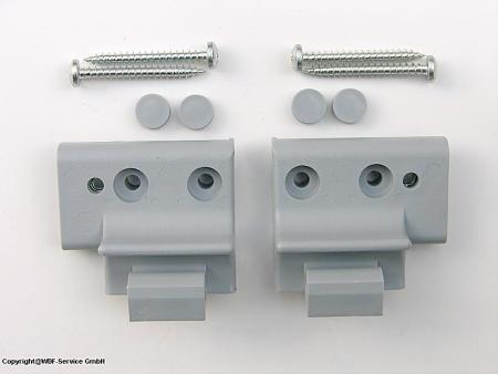 Griffkonsolen-Set, grau, für Braas/Dörken-Atelier-Fenster (BA/DA) Test