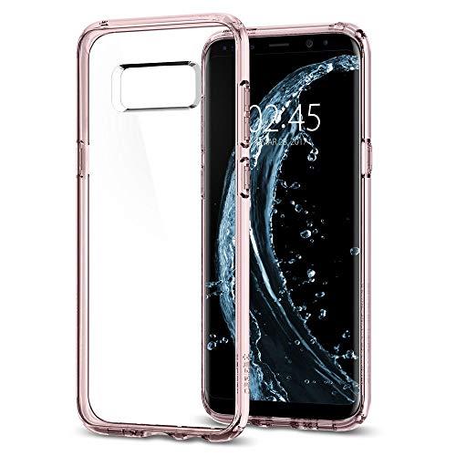 Samsung Galaxy S8 Hülle, Spigen® [Ultra Hybrid] Luftpolster-Technologie [Crystal Pink] Ein Preisvergleich