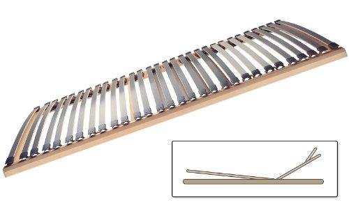 Selecta FR7 KF Flachrahmen Lattenrost mit Kopf- und Fußverstellung 100x200