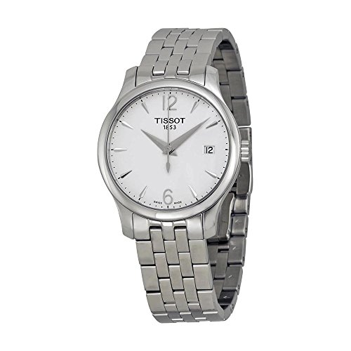 cc302891bb4 Tissot TTrend Tradition Silver Dial Stainless Steel Woman s Watch  T0632101103700