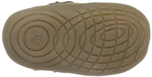 Rose & Chocolat Ss 008, Chaussures Marche Bébé Fille Beige (Suede Tan Boots)