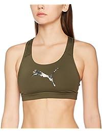 Puma Women's Pwr Shape Forever-Logo Crop Top