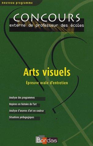 Arts visuels : Epreuve orale d'entretien