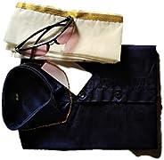 Poly Cotton Dhoti And Shirt Set Mundu For Boys (MT_001)