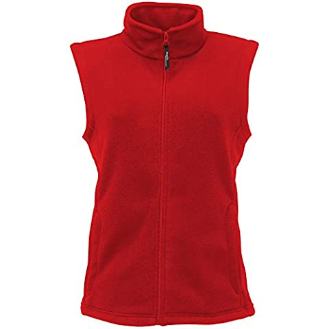 Regatta Womens/Ladies serie 210-Gilet in micropile termico Rosso (Classic red)