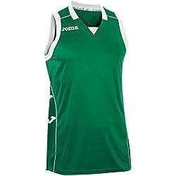 Joma 100049.450 - Camiseta de baloncesto, color verde, talla 4XL-5XL