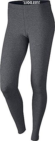 Nike Damen Leg-A-See Leggings, Carbon Heather/Black, S