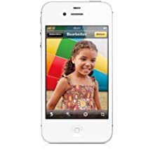Apple iPhone 4S Smartphone (8,9 cm (3,5 Zoll) Touchscreen Display, 8 Megapixel Kamera, 32GB, UMTS, iOS 5) weiß