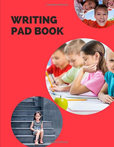 writing pad book: Notebook lined large : black notebook paper sheets/ notebook blank/ nonfiction notebooks/notebook blank book/notebook blank ... sheets of paper( writing paper with lines)