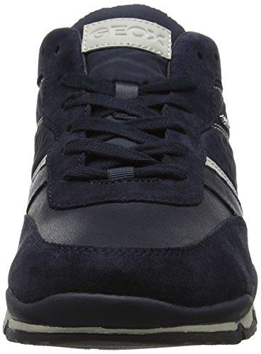 Geox Herren U Sandford B Sneaker Blau (Navy)