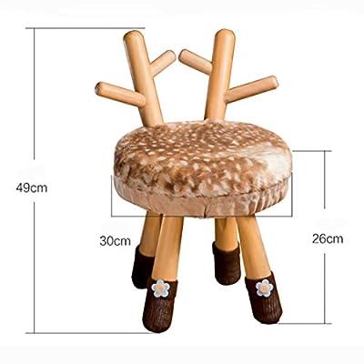 Hocker Schemel Massivholz Beschuht Kinderumwelttierhocker Der Karikatur von HHY bei Gartenmöbel von Du und Dein Garten