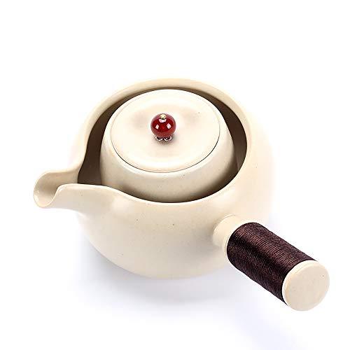 Teiera di ceramica, tea maker elettrico in ceramica stufa smaltata argilla pentola tè casa & filtration ufficio di filtrazione in legno regalo