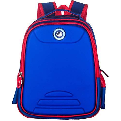 Student Bagpack, Training Klasse Geschenk 3D Kindergarten Tasche Männer Und Frauen Kinder Rucksack Hochwertige Kinder Tasche Schule, Unisex blau -